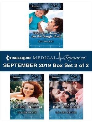 cover image of Harlequin Medical Romance September 2019, Box Set 2 of 2