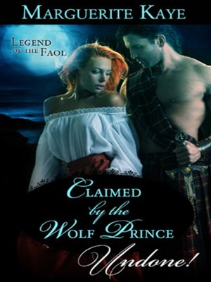 cover image of Claimed by the Wolf Prince