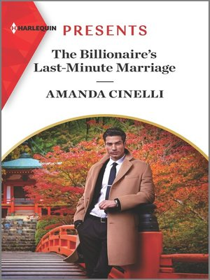 cover image of The Billionaire's Last-Minute Marriage