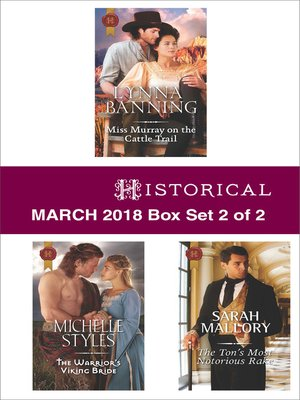 cover image of Harlequin Historical March 2018--Box Set 2 of 2