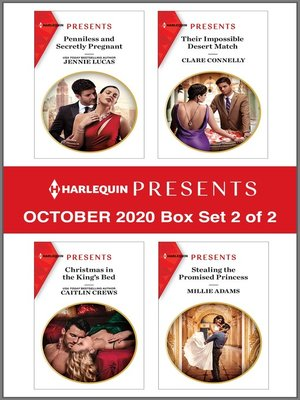 cover image of Harlequin Presents--October 2020--Box Set 2 of 2