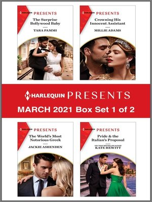 cover image of Harlequin Presents--March 2021--Box Set 1 of 2