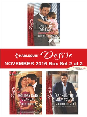 cover image of Harlequin Desire November 2016, Box Set 2 of 2
