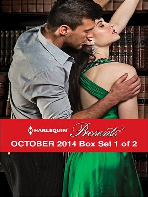 cover image of Harlequin Presents October 2014 - Box Set 1 of 2: Rival's Challenge\His for a Price\The Valquez Bride\Prince Hafiz's Only Vice
