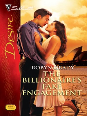 cover image of The Billionaire's Fake Engagement