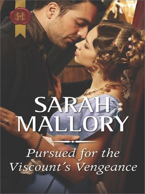 cover image of Pursued for the Viscount's Vengeance