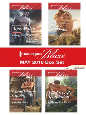 cover image of Harlequin Blaze May 2016 Box Set