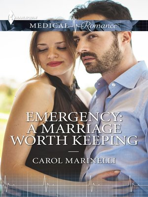cover image of Emergency--A Marriage Worth Keeping