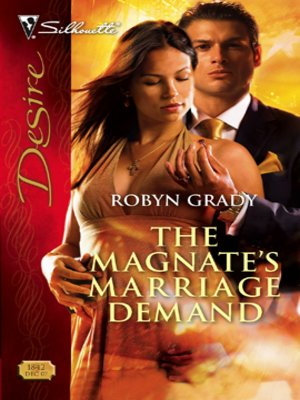 cover image of Magnate's Marriage Demand