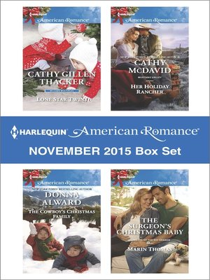 cover image of Harlequin American Romance November 2015 Box Set--An Anthology