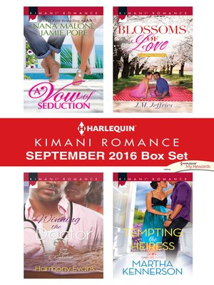 cover image of Harlequin Kimani Romance September 2016 Box Set