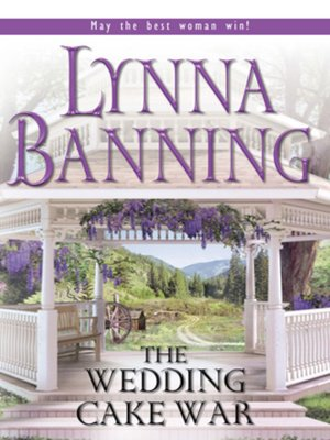 cover image of The Wedding Cake War