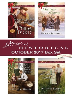 cover image of Love Inspired Historical October 2017 Box Set