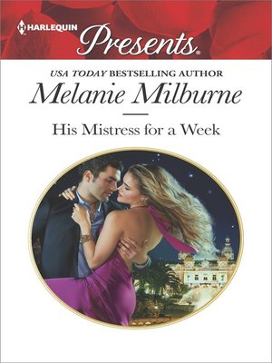 cover image of His Mistress for a Week
