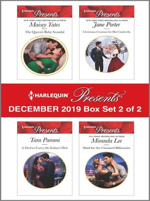cover image of Harlequin Presents--December 2019--Box Set 2 of 2