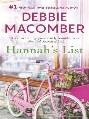cover image of Hannah's List
