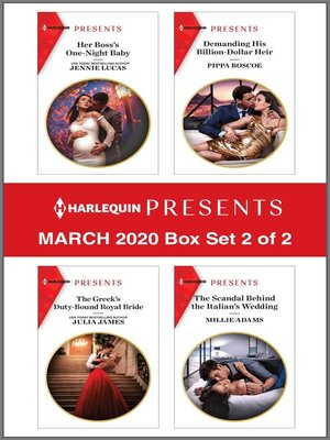 cover image of Harlequin Presents--March 2020--Box Set 2 of 2