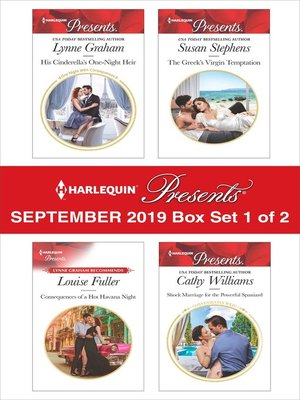 cover image of Harlequin Presents, September 2019, Box Set 1 of 2