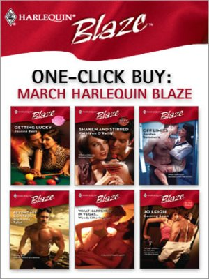 cover image of March Harlequin Blaze