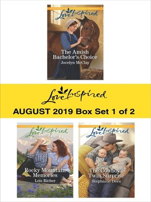 cover image of Harlequin Love Inspired August 2019, Box Set 1 of 2