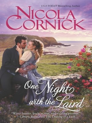 cover image of One Night with the Laird