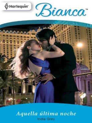 cover image of Aquella ultima noche