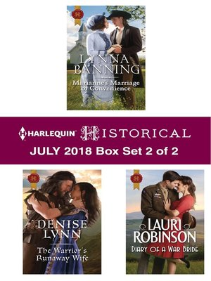 cover image of Harlequin Historical July 2018--Box Set 2 of 2