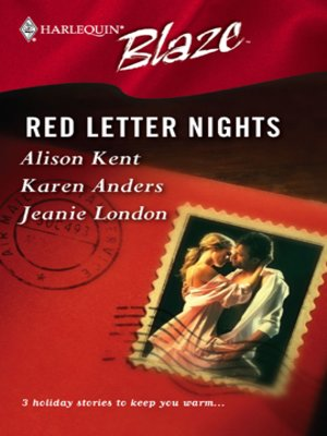 cover image of Red Letter Nights