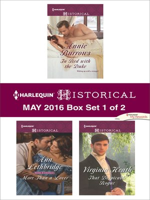 cover image of Harlequin Historical May 2016, Box Set 1 of 2