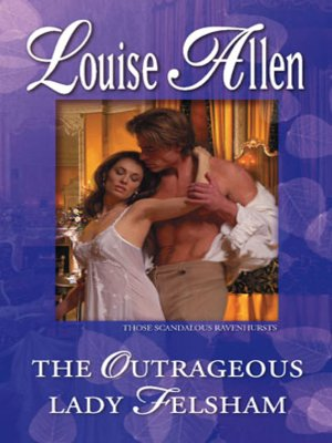 cover image of The Outrageous Lady Felsham