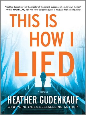 This is How I Lied Book Cover