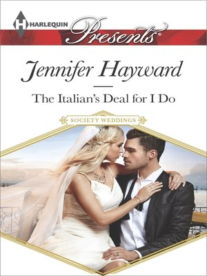 cover image of The Italian's Deal for I Do