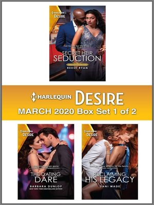 cover image of Harlequin Desire March 2020--Box Set 1 of 2