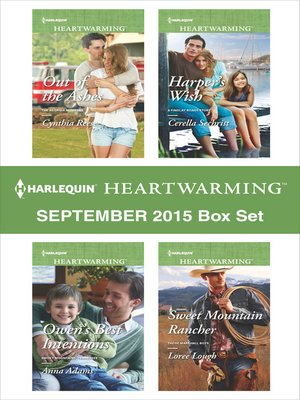 cover image of Harlequin Heartwarming September 2015 Box Set