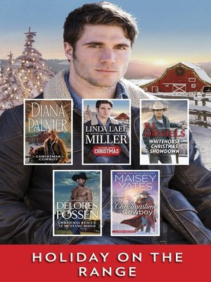 cover image of Holiday on the Range, A Christmas Western Collection: Christmas Cowboy ; A Stone Creek Christmas ; Whitehorse Christmas Showdown ; Christmas Rescue at Mustang Ridge ; Christmastime Cowboy