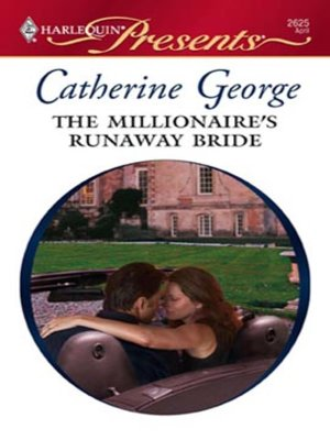 cover image of The Millionaire's Runaway Bride