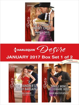 cover image of Harlequin Desire January 2017, Box Set 1 of 2