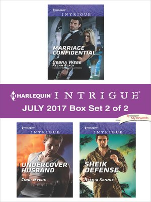 cover image of Harlequin Intrigue July 2017--Box Set 2 of 2