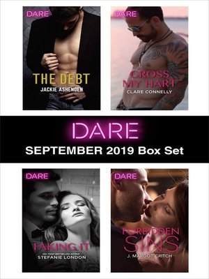 cover image of Harlequin Dare September 2019 Box Set