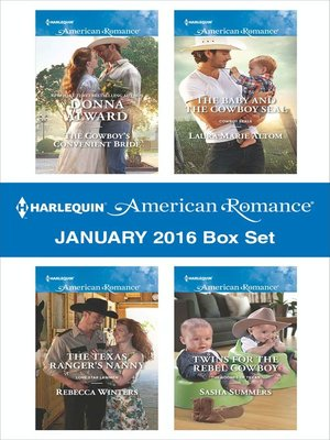 cover image of Harlequin American Romance January 2016  Box Set