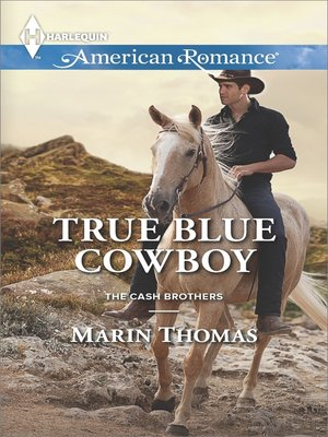 cover image of True Blue Cowboy