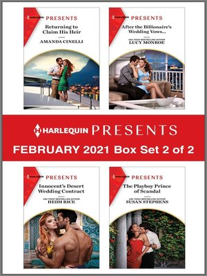 cover image of Harlequin Presents--February 2021--Box Set 2 of 2