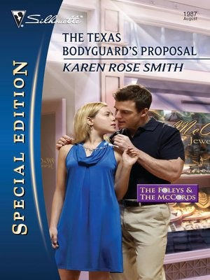 cover image of The Texas Bodyguard's Proposal