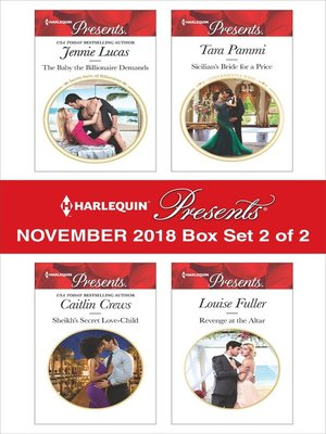cover image of Harlequin Presents November 2018--Box Set 2 of 2