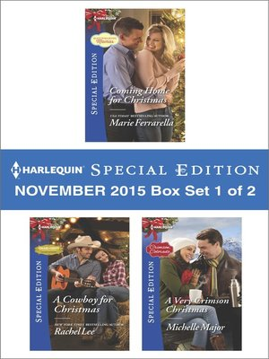 cover image of Harlequin Special Edition November 2015, Box Set 1 of 2