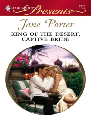 cover image of King of the Desert, Captive Bride