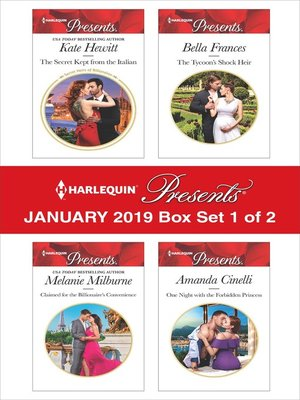 cover image of Harlequin Presents January 2019: Box Set 1 of 2
