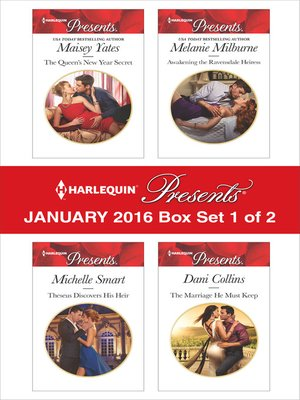cover image of Harlequin Presents January 2016, Box Set 1 of 2