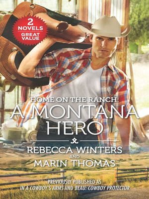 cover image of Home on the Ranch: A Montana Hero