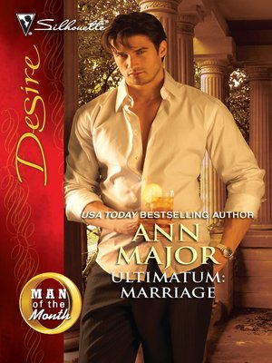 cover image of Ultimatum: Marriage